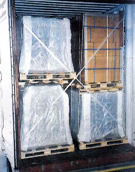 ตัวอย่าง การแพ็คกิ้ง สินค้า การบรรจุตู้ ในตู้คอนเทนเนอร์